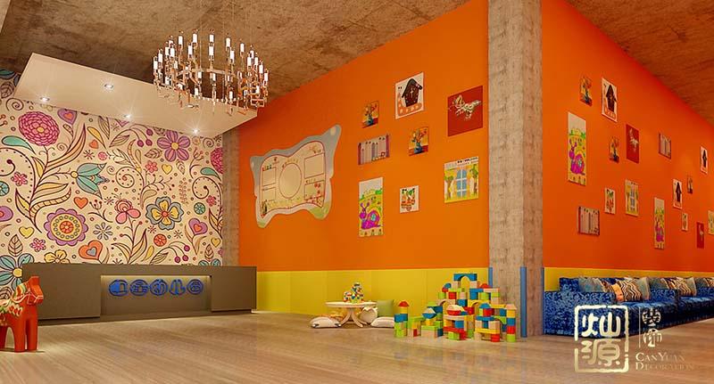 红星幼儿园装修施工案例--灿源装饰