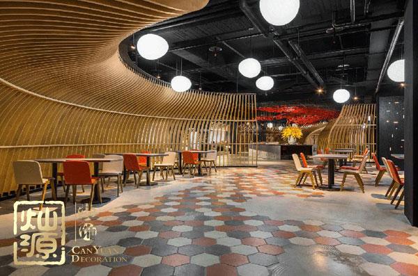灿源装饰餐饮空间灯光设计理念:气氛与情绪的带动者