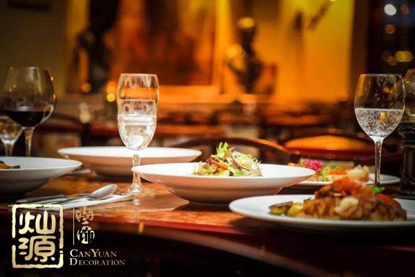 灿源装饰餐饮空间灯光设计理念:让灯光为食欲加码