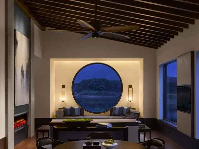 新中式别墅亿博国际开户区域划分注意事项