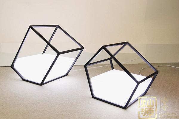 办公室亿博国际开户,灯具这样安装设计稳了