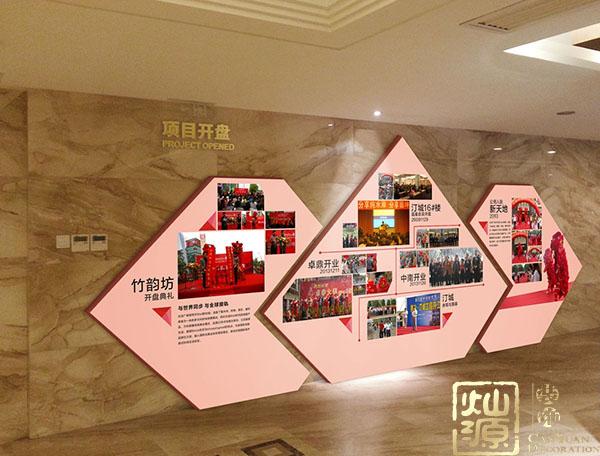南宁办公室亿博国际开户墙体文化设计效果,值得考虑!
