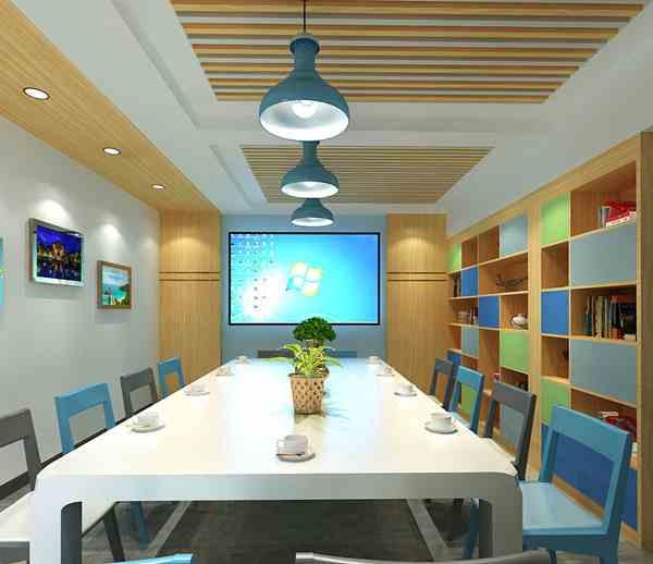 廣西中信科技公司信息科技行業辦公室億博國際開戶施工案例--燦源裝飾