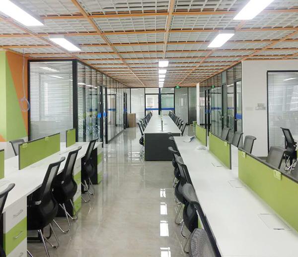 克瑞斯顿外资企业办公室亿博国际开户施工案例--灿源装饰
