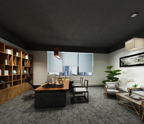中鼎万象东方办公室大红鹰论坛高手版案例--大红鹰在线平台装饰