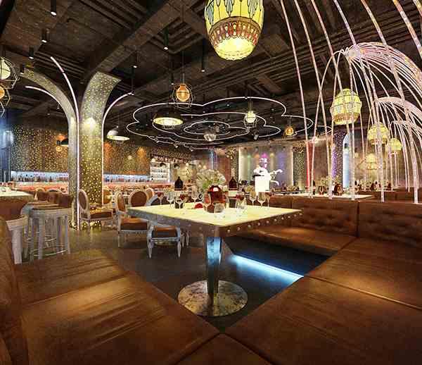 麗榭.艾米云酒吧億博國際開戶施工案例--燦源裝飾