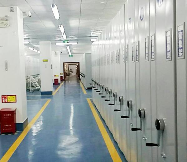 琴海數碼廠房檔案庫房億博國際開戶施工案例--燦源裝飾