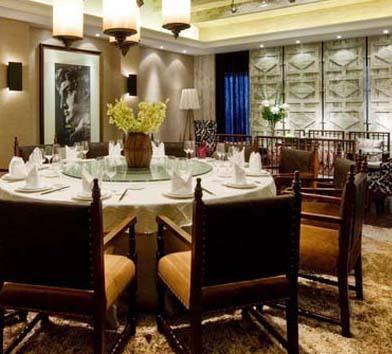 放松吧休闲中餐厅亿博国际开户施工案例--灿源装饰