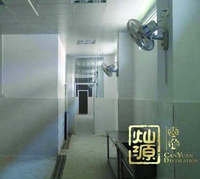 酸品王食品厂厂房亿博国际开户施工案例-灿源装饰