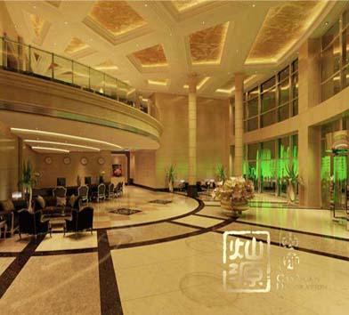 廣西梧州酒店億博國際開戶案例-燦源裝飾