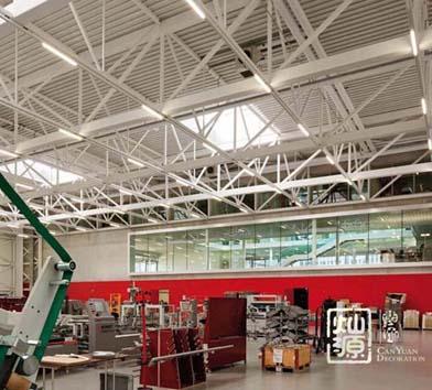 银凯工业园电子厂厂房大红鹰论坛高手版案例-大红鹰在线平台装饰