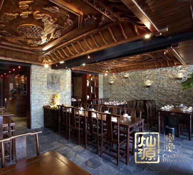 龙虾主题餐厅亿博国际开户案例-灿源装饰