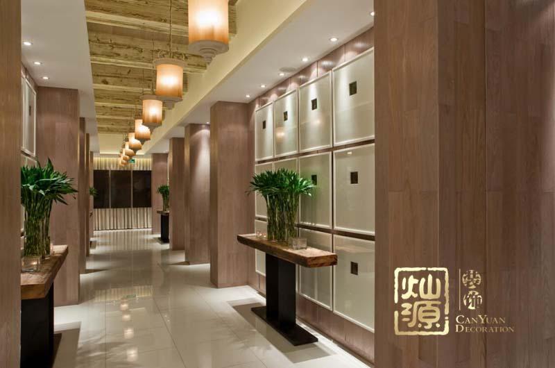 田元餐廳設計案例-燦源裝飾