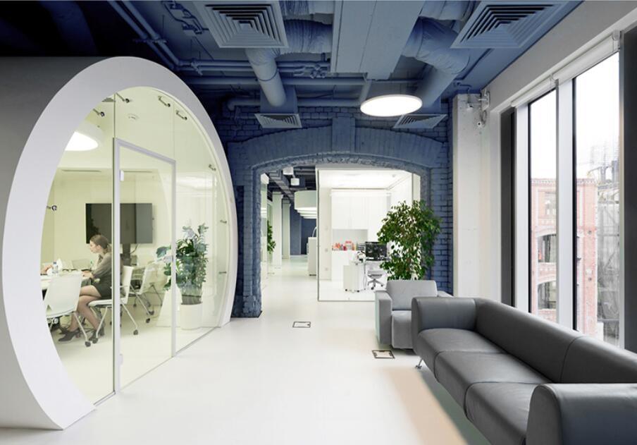 南宁软件园二期工业风办公室设计案例-灿源装饰