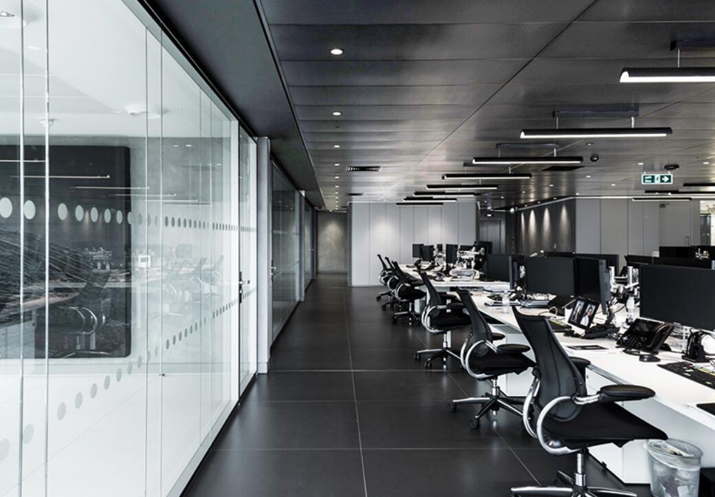 工业风办公室设计案例-灿源装饰