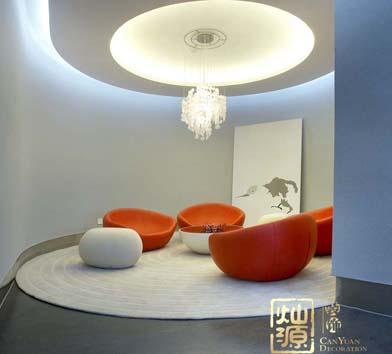 松宇时代创意办公室设计亿博国际开户案例-灿源装饰