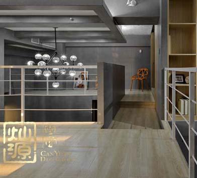 常青藤南宁loft风格办公室亿博国际开户设计案例-灿源装饰