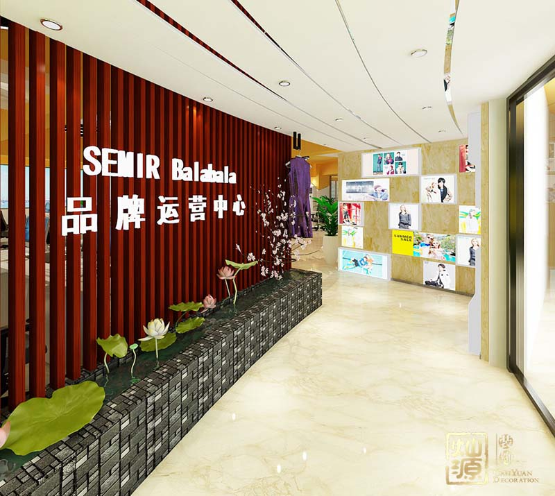 南宁办公室设计前台