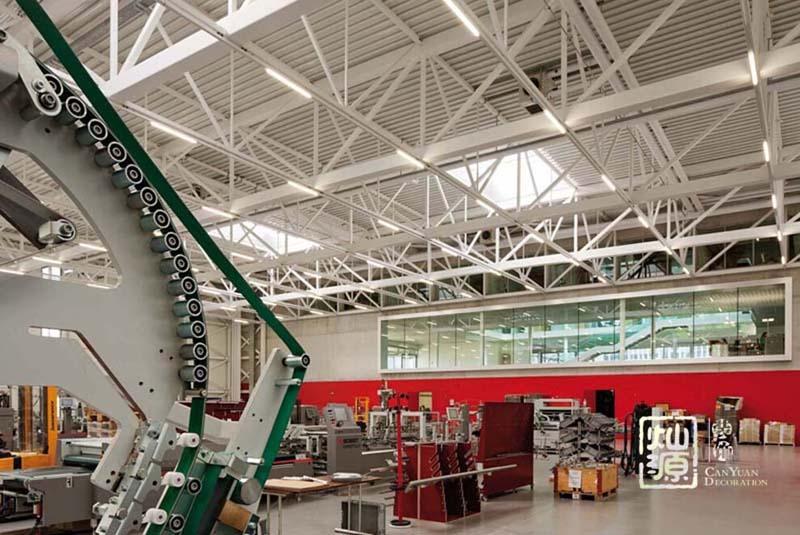 银凯工业园电子厂厂房亿博国际开户案例