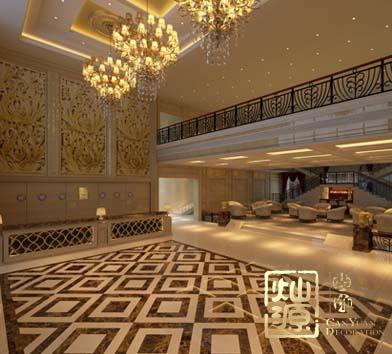 黑天鵝度假酒店設計案例-燦源裝飾
