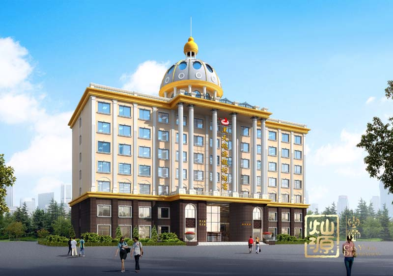 度假酒店设计外观