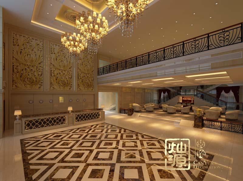 度假酒店设计大堂