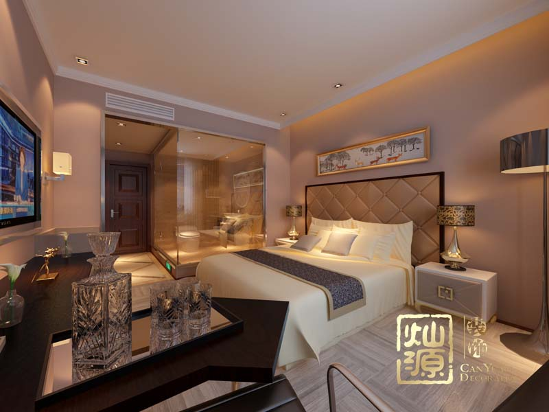度假酒店设计单房