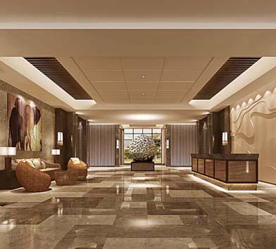 盛世龍騰中式風格酒店設計案例賞析—燦源裝飾