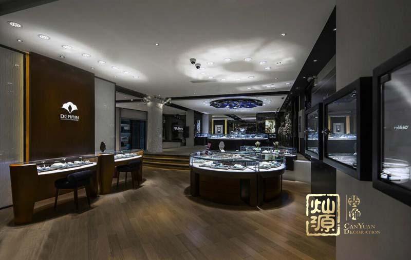 南宁珠宝店展厅设计