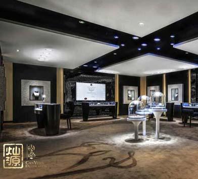 wolfers珠寶店展廳設計案例-燦源裝飾