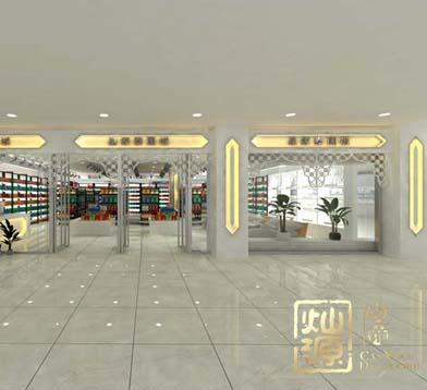 泰國城南百商場店面設計億博國際開戶案例-燦源裝飾