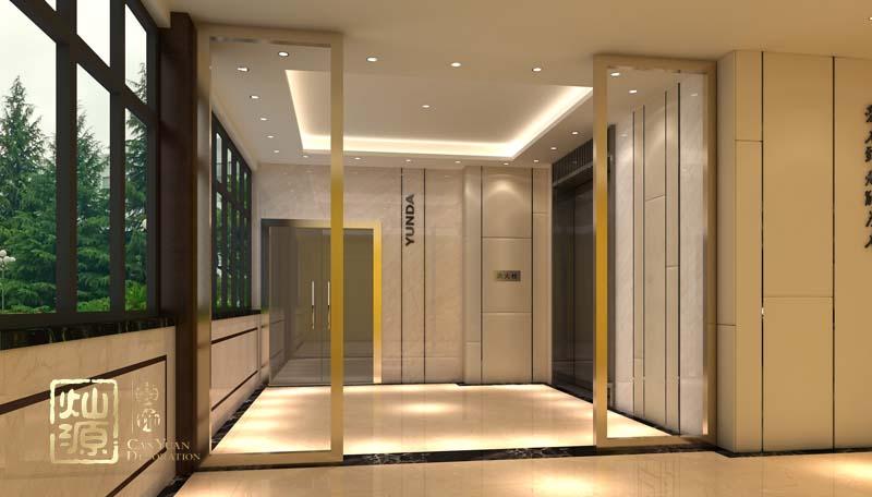南宁办公室亿博国际开户电梯前厅