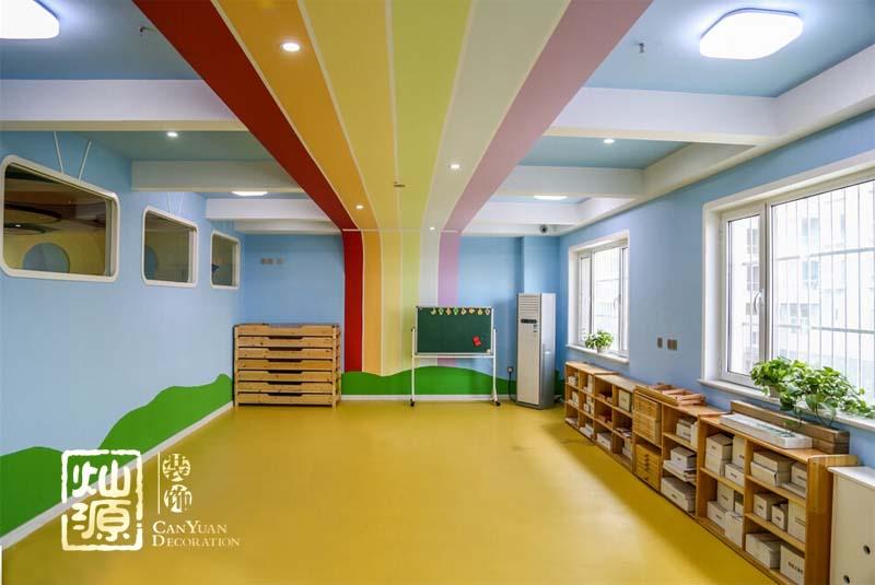 高新区主题幼儿园设计装修案例—灿源装饰