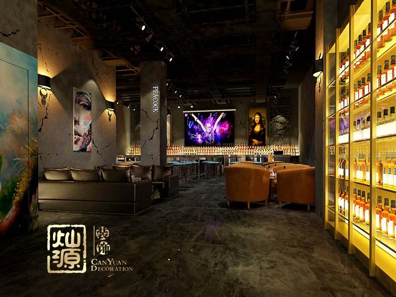 南客酒吧億博國際開戶案例-燦源裝飾