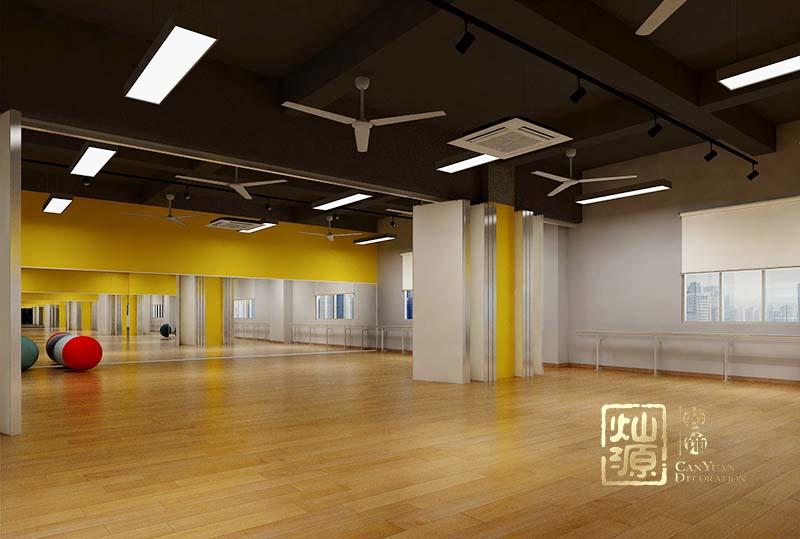舞蹈艺术培训学校装修效果图