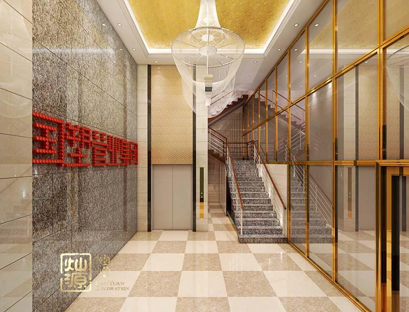广西国塑管业集团有限公司办公室设计亿博国际开户案例-灿源装饰