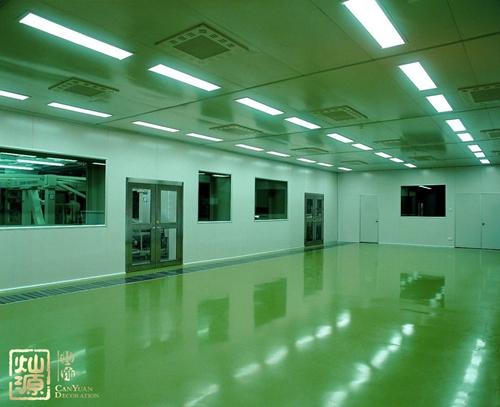 江南區國凱大道聯合U谷無塵車間廠房億博國際開戶案例-燦源裝飾