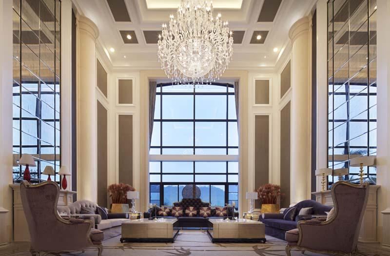北海新古典别墅设计大红鹰论坛高手版案例-大红鹰在线平台装饰