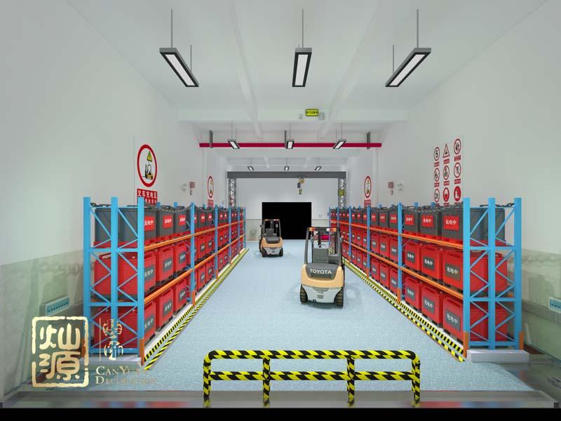广西太古可口可乐饮料有限公司叉车充电车间、维修车间改造设计案例