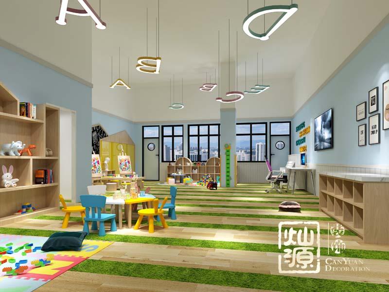 幼儿园设计亿博国际开户教室效果图
