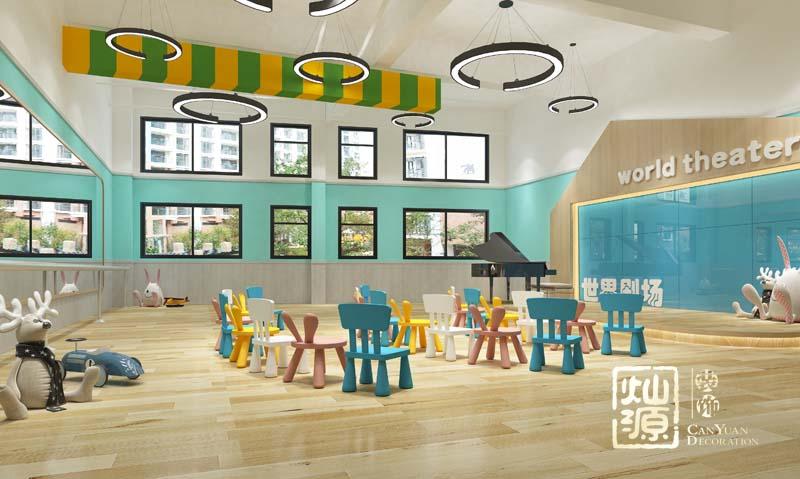 幼儿园设计亿博国际开户多功能室效果图