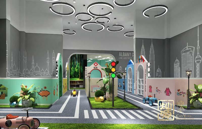 幼儿园设计亿博国际开户之角色扮演区效果图