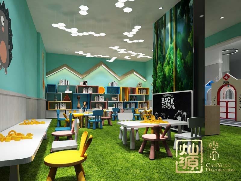 幼儿园设计亿博国际开户之美工室效果图