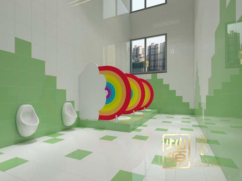 幼儿园设计亿博国际开户卫生间效果图
