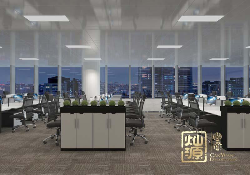 五象新区办公区域亿博国际开户效果图