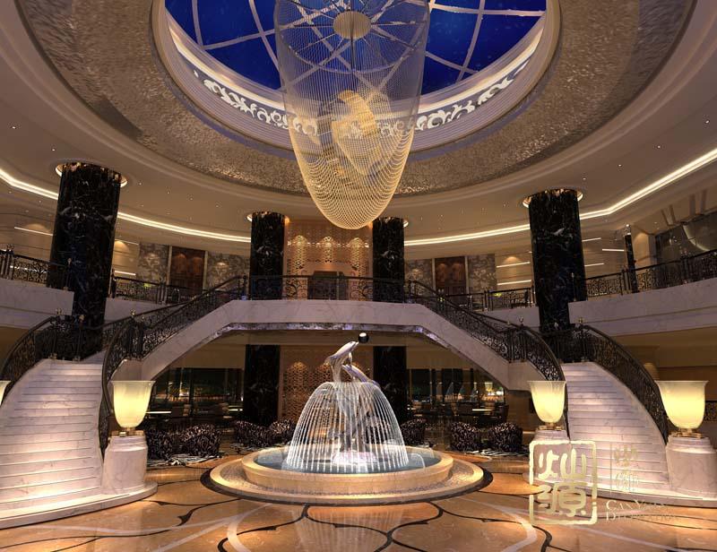 日照盛世泰華大酒店設計案例-燦源裝飾