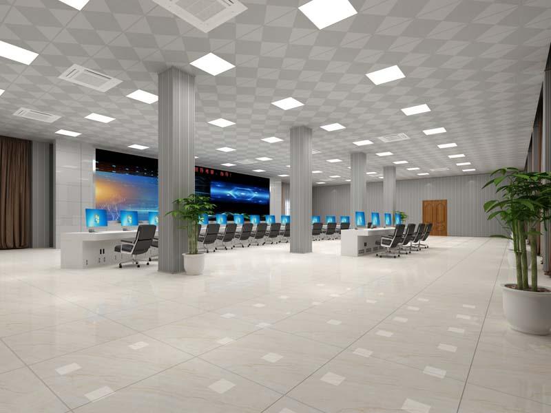 贵糖集团指挥控制调度中心办公室设计亿博国际开户案例-灿源装饰