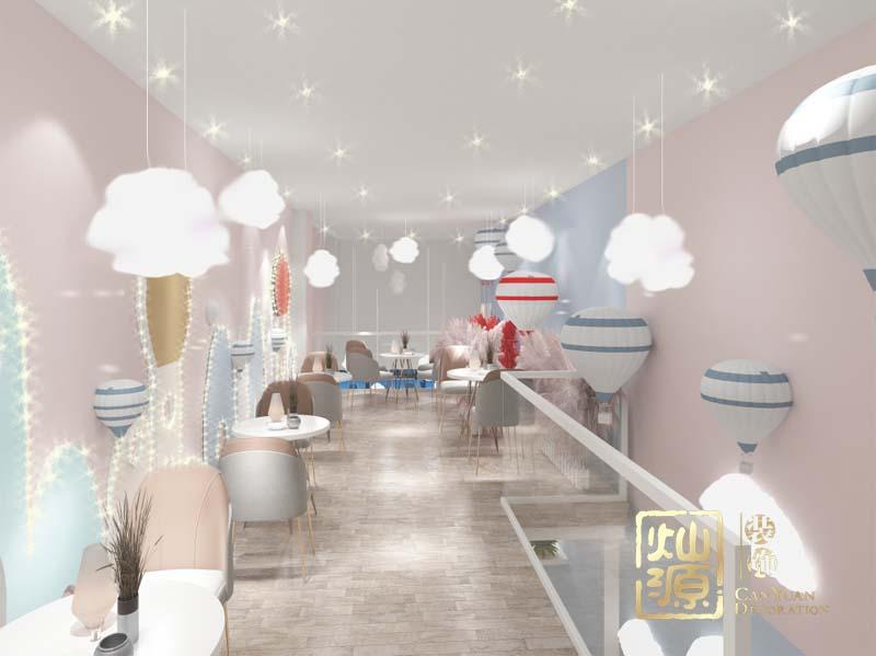 网红奶茶店设计亿博国际开户