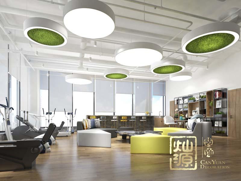 招商蛇口工業區控股公司南寧分公司辦公室設計案例-燦源裝飾