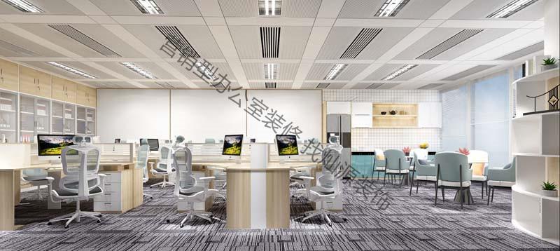 办公室简约亿博国际开户设计效果图
